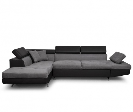 Coltar extensibil stanga Rio Keaton Black and Grey