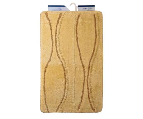 Zestaw 2 dywaników łazienkowych Avantgarde Wavy Cream