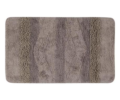 Dywanik łazienkowy Zentoni Machine Brown 60x100 cm