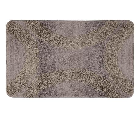 Dywanik łazienkowy Zentoni Ribbon Brown 60x100 cm