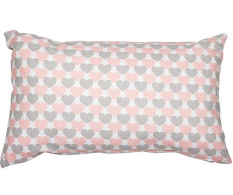 Pink Love Díszpárna 30x50 cm