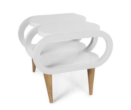 Yuvo White Asztalka