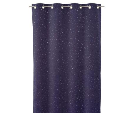Závěs Cosmos Blue 140x260 cm