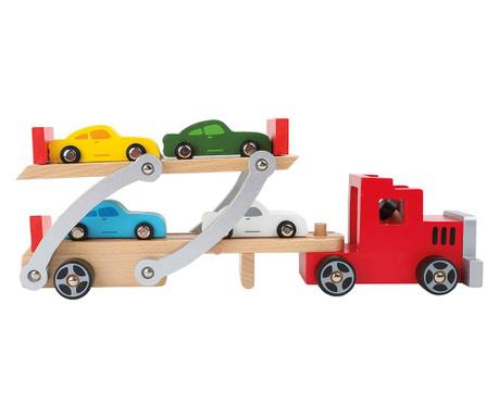 Set 5 masini de jucarie Red