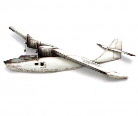 Zidni ukras Beaux Arts Water Airplane