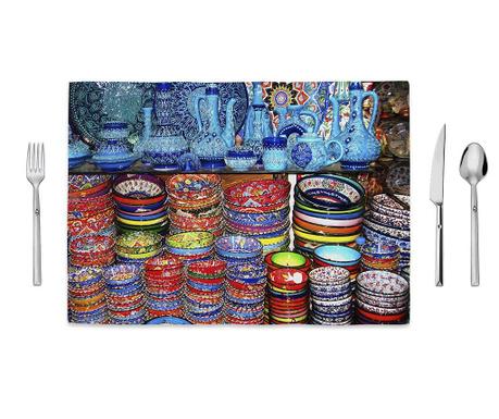 Pots and Colors Tányéralátét 35x50 cm