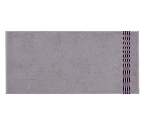 Ręcznik kąpielowy Dots Grey 50x100 cm