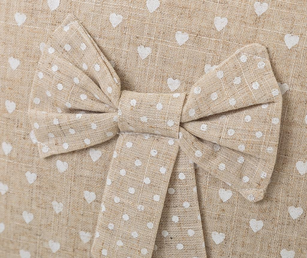 Perna decorativa Little Bow 45x45 cm