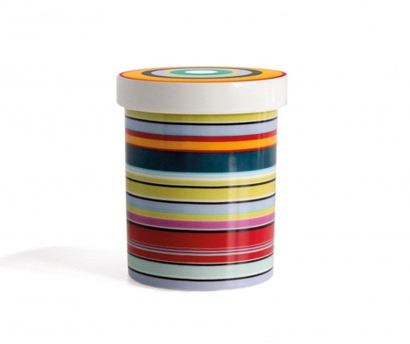 Recipient cu capac Colour Stripes