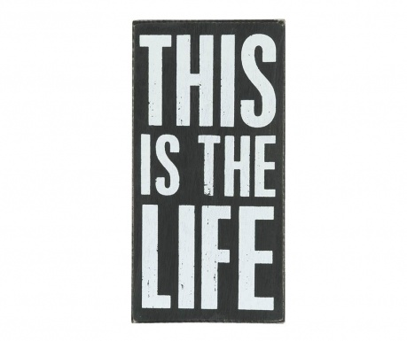Decoratiune de perete This is Life