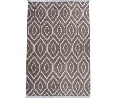 Covor Kilim Abstract Eyes Latte 152x244 cm