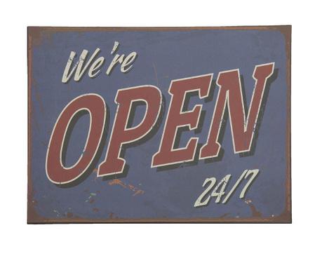 Open Non Stop Fali dekoráció