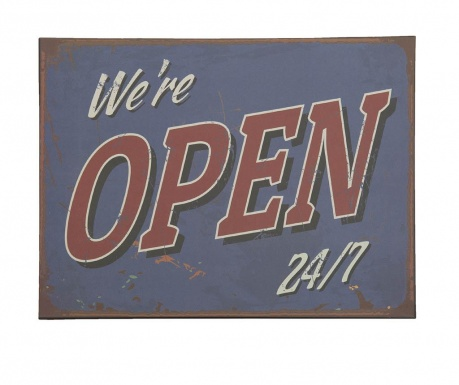 Decoratiune de perete Open Non Stop
