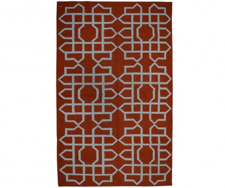 Covor Kilim Indira Scarlet 152x244 cm