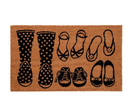 Covoras de intrare Shoes 45x74 cm