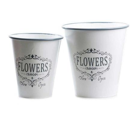 Set 3 ghivece Flower Shop