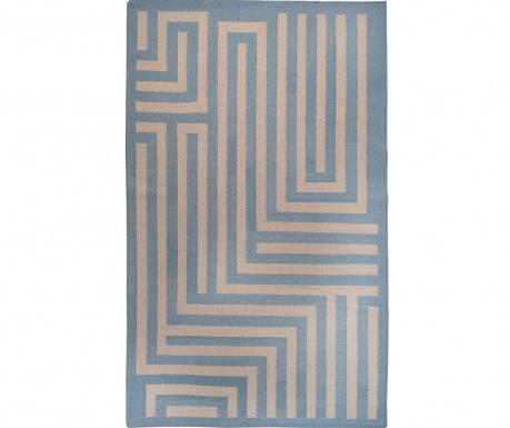 Covor Kilim Kasem Blue 152x244 cm