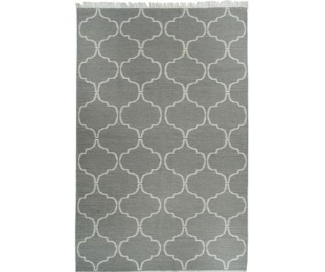 Covor Kilim Honeycomb Grey 244x305 cm