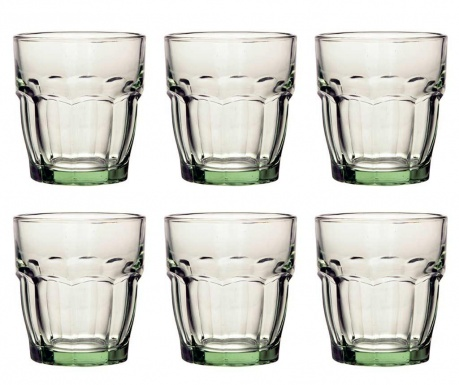 Set 6 čaša Rock Bar Green 270 ml