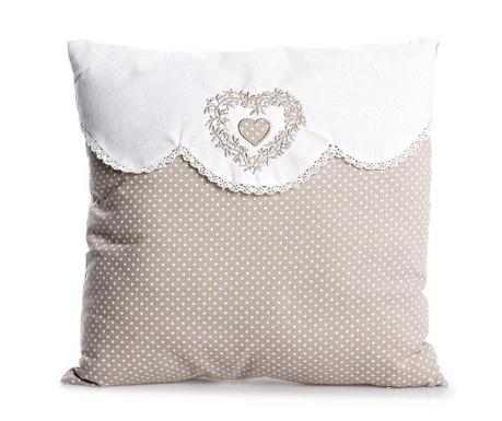 Poduszka dekoracyjna Roselle Heart 40x40 cm