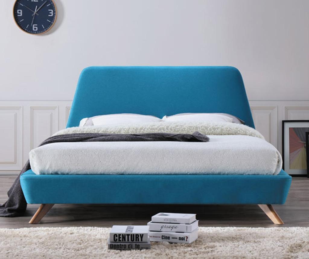 Posteľ Hera Turquoise 160x200 cm
