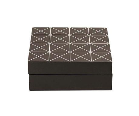 Кутия с капак Black & White