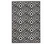 Tepih Diamonds Black and Cream 200x290 cm