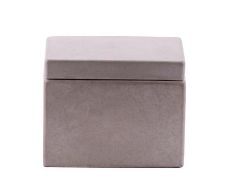 Κουτί με καπάκι Cubic Concrete