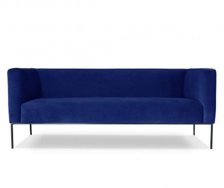 Canapea 3 locuri Neptune Blue Royal