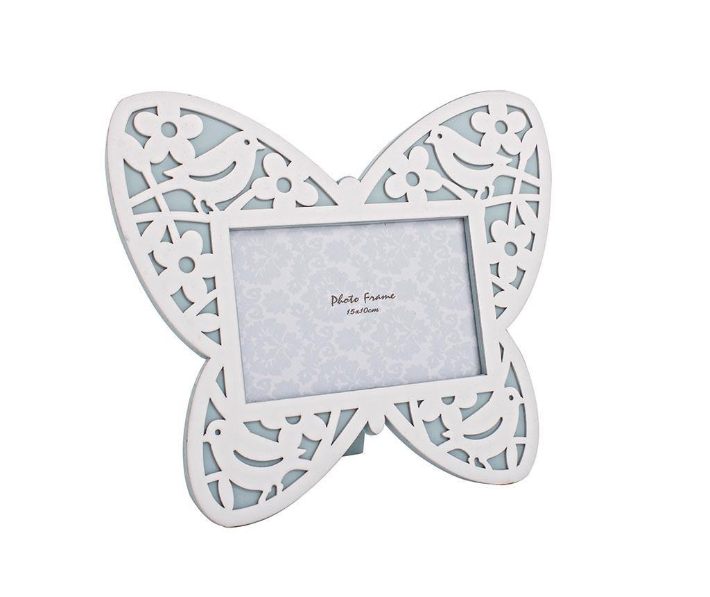 Butterfly White Fényképtartó