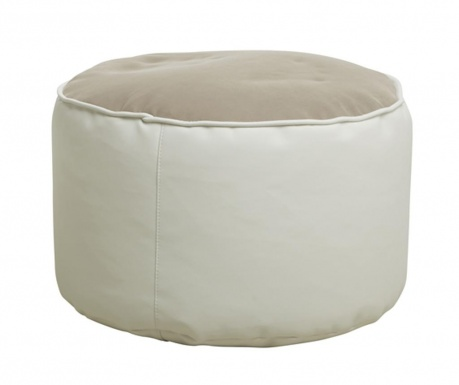 Pufa Comfort Genua Beige White