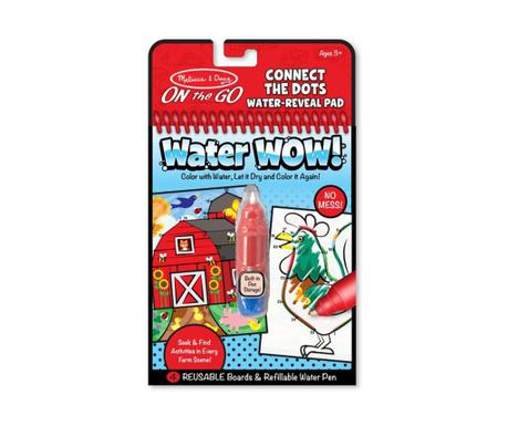 Set bilježnica za bojanje i olovka Water Wow