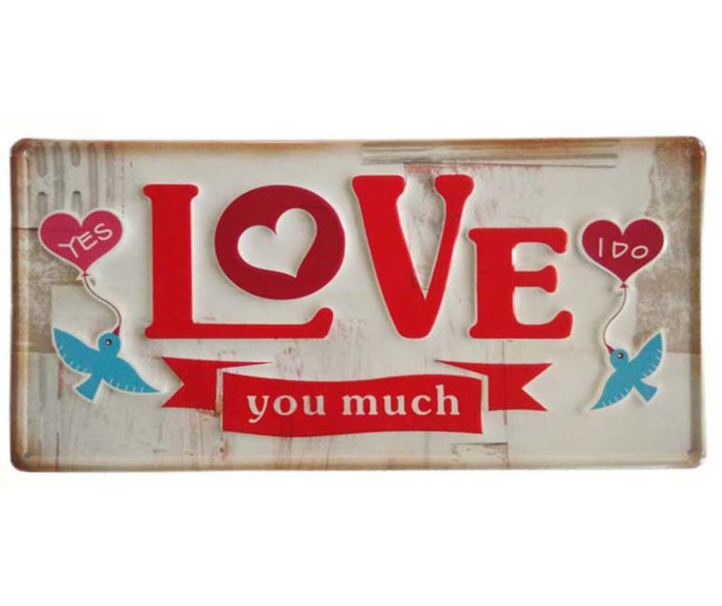 Zidni ukras Love