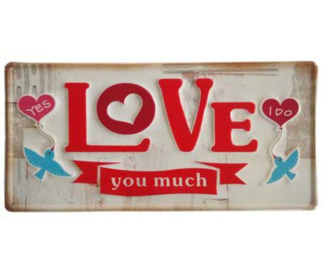 Стенна декорация Love