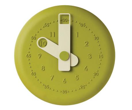 Zegar ścienny Present Green