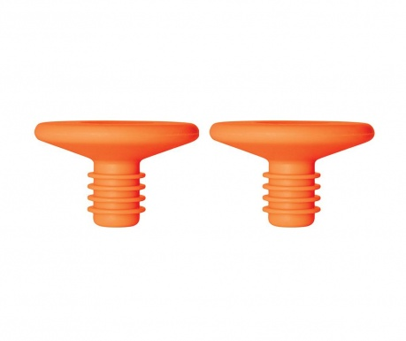 Set 2 dopuri pentru sticla Hombre Orange