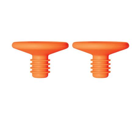 Set 2 čepa za boce Hombre Orange