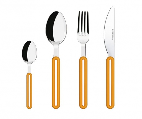 Set tacamuri 24 piese Offset Orange