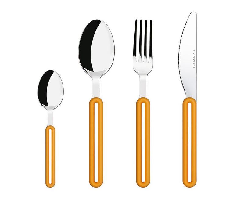 Offset Orange 24 darabos Evőeszköz készlet