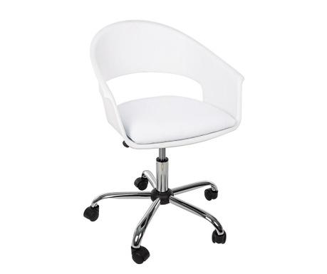 Kancelářská židle Wells White