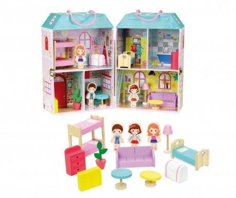 Domeček pro panenky Suitcase