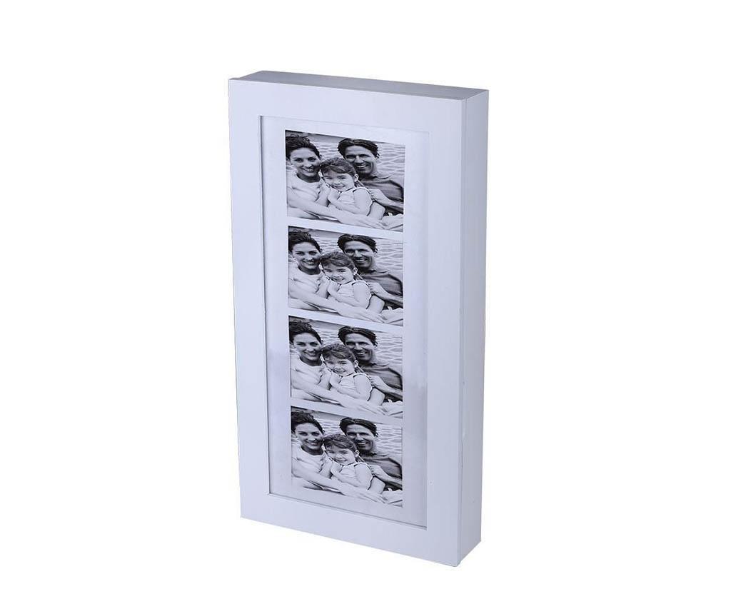 Mercy Ékszertartó szekrényke 4 fényképtartóval