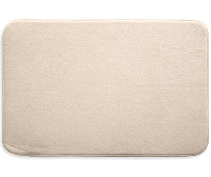 Aris Beige Fürdőszobai szőnyeg 50x70 cm