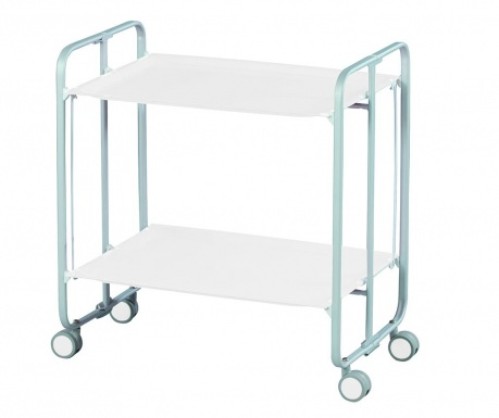 Sklopiva kolica za posluživanje Star Mini Silver White