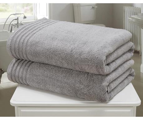 So Soft Charcoal 2 db Fürdőszobai törölköző 100x140 cm