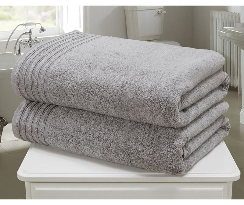 Sada 2 ručníků So Soft Charcoal 100x140 cm