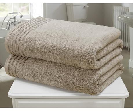So Soft Taupe 2 db Fürdőszobai törölköző 100x140 cm