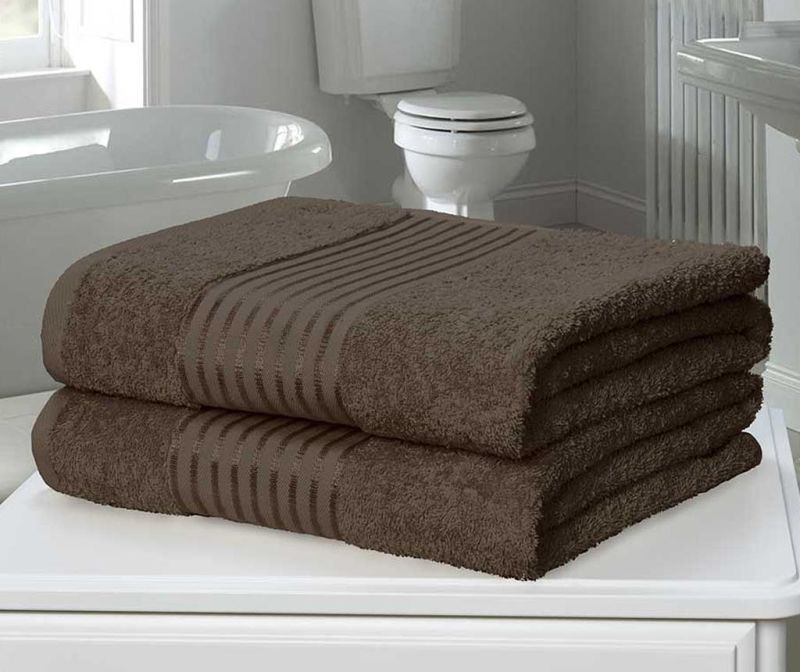 Sada 2 ručníků Windsor Chocolate 90x140 cm