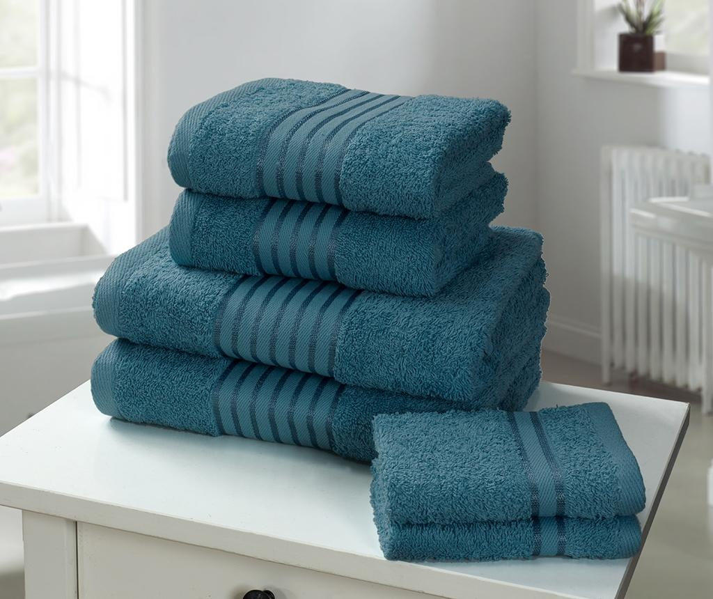Set 6 prosoape de baie Windsor Teal