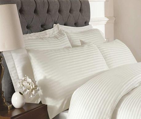 Sada 2 povlaků na polštáře Brighton Hill Premium Cream 50x75 cm